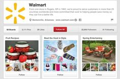 How the top 10 US retailers use Pinterest | Econsultancy