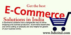 eCommerce-solutions in India