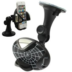 [$3.26] Car Universal 360 Degree Rotating Support Holder for iPhone 5 / iPhone 4 & 4S (Black)