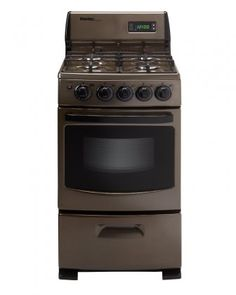 danby 20 inch gas range with cu manual clean oven 4 sealed burners electronic ignition and broiler door