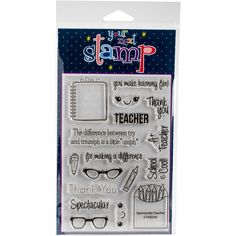 Your Next Stamp Stamps 4X6-Spectacular Teacher