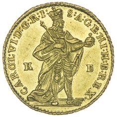 Dukat 1738 KB RDR Haus Österreich Karl VI. 1711 - 1740