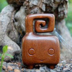 "Pida - 4.5"" wood toy"