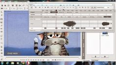 Cool Froyd the Cat and Crazy Talk Animator 2 (Pipeline)