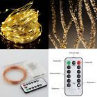 Warm White 5M 50 LED String Copper Wire Fairy Xmas Lights Wedding Party Decor