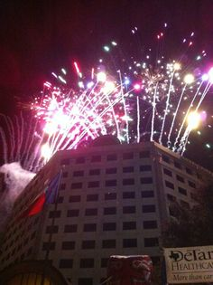 #Bootfest fireworks. Send your photos to share@VictoriaAdvocate.net. Have fun out there.
