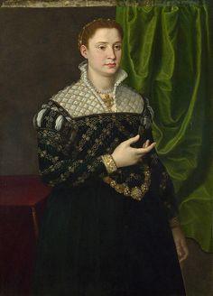 BRONZINO ~ Portrait of a Lady (1555-60)