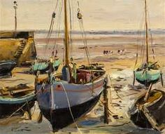 Richard Hayley Lever, (American, 1876–1958), Harbor