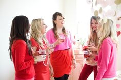 Glitter Guide: Valentine's Day Girls' Night In photographed by Michelle Drewes