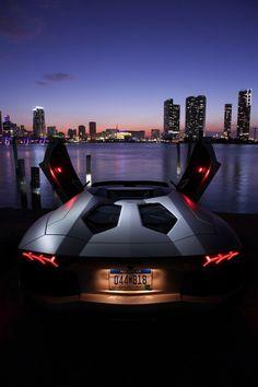 ♠ Lamborghini Aventador #SportsCar #Automotive