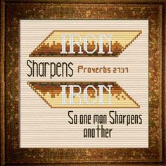 Free Cross Stitch Designs featuring Bible Verses, Free cross-stitch charts, Stitch a gift of encouragement and praise, Free charts and Stitching Instructions Cross Stitch Charts, Cross Stitch Designs, Cross Stitch Patterns, Proverbs 27, Joyful, Free Design, Bible Verses, Iron, Names