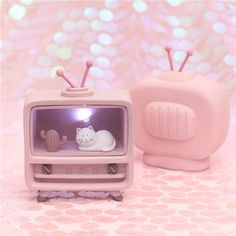 Product Description: Want an aesthetic full-of-life kawaii room? Then it's time to decorate your home or desk with this adorable pastel music box shaped lamp that has magical animals living i… Unique House Design, Box Design, Cute Gifts, Unique Gifts, Kawaii Bedroom, Unicorn Fashion, Kawaii Bunny, Cute Bedroom Decor, Cute Stationery