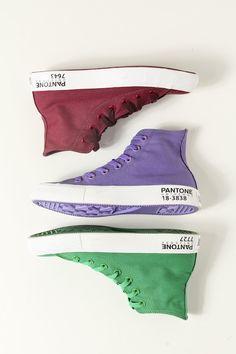 Pantone sneakers!