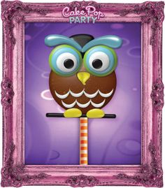 Owl see ya later! (Cake pop party, cake pops, design app, top kid app, creative app, iPad, ingredients, party)