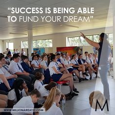 Millionaire at is a book written by Albert van Wyk, one of the youngest millionaires in South Africa. Learn from a South African Millionaire. Monday Quotes, Become A Millionaire, Dreaming Of You, How To Become, Success, African, Inspiration, Biblical Inspiration, Inspirational