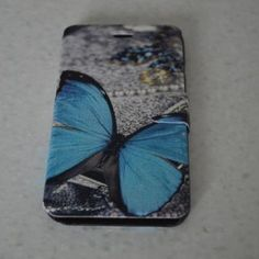 Blue Butterfly Iphone 6 Cov..