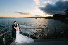 An amazing photo taken by Donal Doherty Photography of a wedding couple who got married here in October.