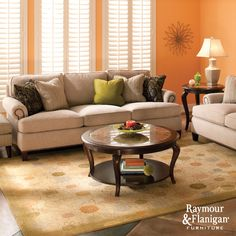 Cassandra Living Room | This collection can work with any style or color scheme.