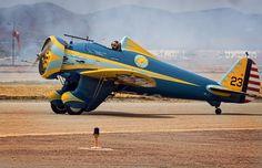 Boeing P-26 Peashooter by rockbottom
