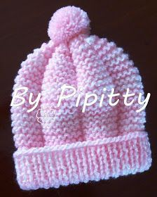 Baby Hat Knitting Patterns Free, Baby Cardigan Knitting Pattern, Baby Hat Patterns, Baby Hats Knitting, Crochet Baby Hats, Free Knitting, Crochet Baby Clothes, Diy Crafts Crochet, Knitted Hats Kids