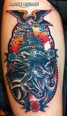 cavalli - Samuele Briganti Tattoo Artist