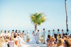 beach ceremony | Erika Delgado #wedding