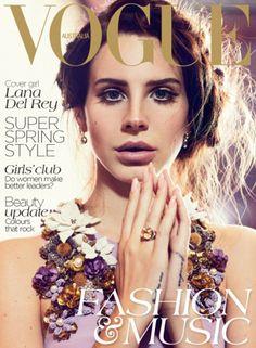 Lana Del Rey for Vogue Australia October 2012