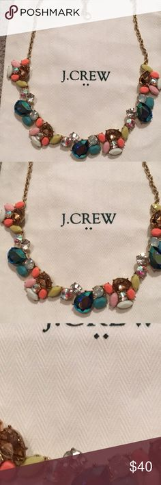 J crew necklace J crew necklace wore once excellent condition J. Crew Jewelry Necklaces