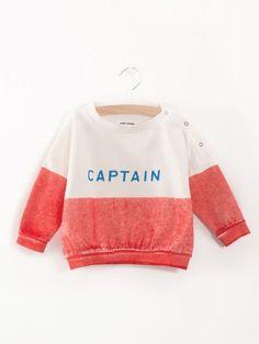 Captain Baby boat sweatshirt