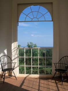 Jefferson's Monticello - looking into the gardens