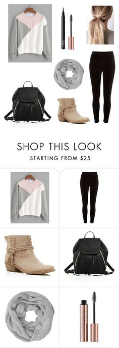 """Back to school outfit"" by secret-girl02 ❤ liked on Polyvore featuring River Island, Dolce Vita, Rebecca Minkoff, John Lewis and NARS Cosmetics"