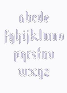 Ribbon Typeface by Julia Agisheva  https://www.behance.net/gallery/Ribbon-Typeface/3986821
