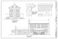 house elevation drawings - Google Search