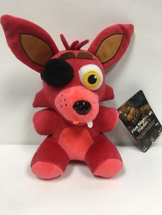 Funko Authentic Five Nights At Freddy's FOXY Plush Series 1 FNAF New #Funko
