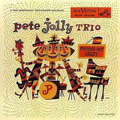 Pete Jolly Trio  -  Jim Flora