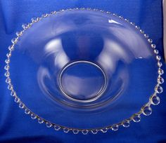Candlewick bell shaped Imperial Glass Bowl