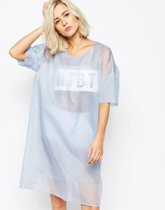 Wood Wood Not To Be Trusted Dress in Organza Silk