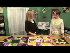 ▶ Resizing Quilt Blocks with Gigi Khalsa - YouTube/Increasing the size of a quilt block by QNM T.V.