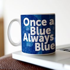 Personalised Mug - Once A Blue... | GettingPersonal.co.uk