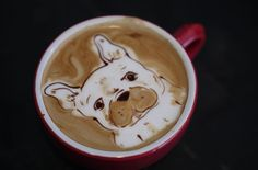 This barista may be the best coffee artist in San Francisco, even the world - SFGate San Francisco Bars, San Francisco Shopping, Coffee Is Life, Coffee Art, Dog Coffee, Disney And More, Latte Art, Best Coffee, Barista