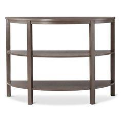 Threshold™ Parson's Demilune Console Table - Gray