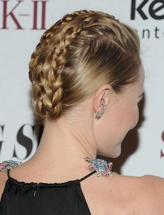 kate bosworth 2014 | 2014 Kate Bosworth Hairstyles: Braided Updos /Getty Images