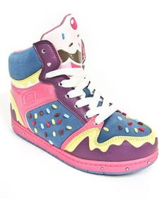 Take a look at this Purple & Pink Sprinkle Hi-Top by Pastry Pop Stars on #zulily today!