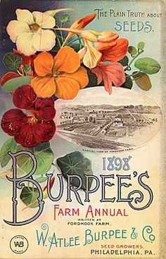 Company Name:  W. Atlee Burpee & Co.    Catalog Title:  Burpee's Farm Annual (1898)  Publication Information:  Philadelphia, PA  United States  Smithsonian Institution Libraries Catalog Number:  09483