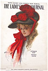 COVER OF LADIES HOME JOURNAL FROM OCT 1907