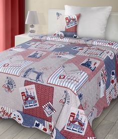 bezove-obojstranne-patchwork-prikryvky-na-postel Quilts, Blanket, Bed, Home, Scrappy Quilts, Stream Bed, Quilt Sets, Ad Home, Blankets