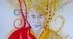 Dalai Lama, Ronald Mcdonald, Painting, Fictional Characters, Life, Art, Art Background, Painting Art, Kunst