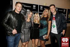 (L-R) Actors Chris Pratt, Dascha Polanco, Anna Faris, Laverne Cox, and Pablo Schreiber attend the 2014 iHeartRadio Music Festival at the MGM Grand Garden Arena on September 20, 2014 in Las Vegas, Nevada. #iHeartRadio
