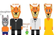 zveropolis Family Fang