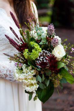 Stunning bridal bouquet for an elopement in the California redwoods Blue Wedding Flowers, Wedding Bouquets, Hand Tied Bouquet, Elope Wedding, Floral Wreath, California, Wreaths, Bridal, Blue Flowers For Wedding